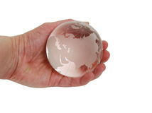 кристаллический глобус Стоковая Фотография