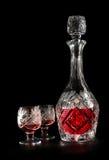 кристаллический графинчик Стоковое Фото