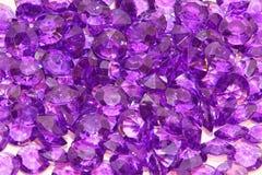 кристаллический пурпур стоковые изображения