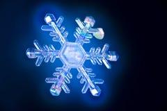 кристаллический снежок стоковое изображение