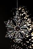 кристаллический снежок стоковое фото