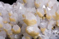 кристаллический утес стоковая фотография
