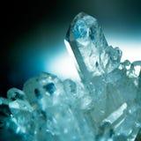 кристаллический утес Стоковое Фото