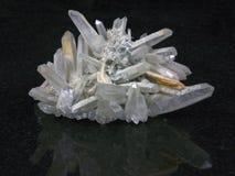 кристаллический утес стоковые фото