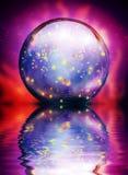 Кристаллический шар иллюстрация вектора