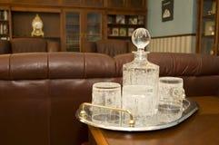 кристаллический dishware Стоковые Фотографии RF