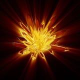кристаллический shine утеса иллюстрация вектора