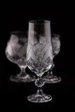 кристаллическое граненое стекло Стоковое Изображение RF