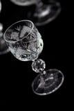 кристаллическое граненое стекло Стоковые Изображения RF