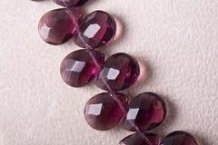 кристаллическое ожерелье стоковое фото rf