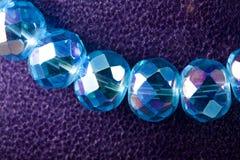 кристаллическое ожерелье стоковое изображение