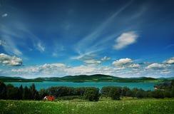 кристаллическое озеро Стоковые Фотографии RF