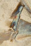 кристаллическое твердое тело льда конструкции Стоковое Изображение RF