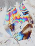 кристаллы предпосылки стоковые изображения rf