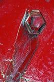 кристаллы химиката предпосылки стоковое изображение rf