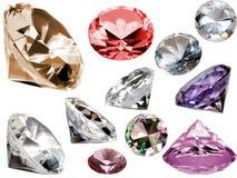 кристаллы Стоковые Фотографии RF