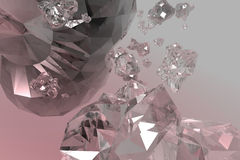 кристалл иллюстрация штока