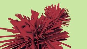 Кристаллическая абстрактная предпосылка Стоковые Фото