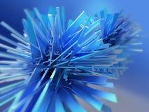 Кристаллическая абстрактная предпосылка Стоковое Изображение RF