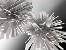 Кристаллическая абстрактная предпосылка Стоковые Изображения RF