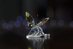Кристаллическая бабочка Стоковые Изображения