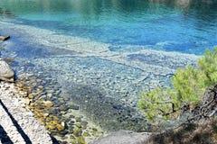 Кристаллическая вода Стоковое Изображение RF