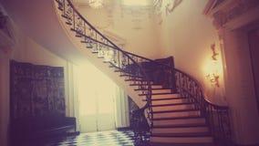 Кристаллическая лестница Стоковое Изображение
