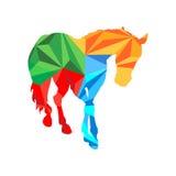 Кристаллическая лошадь Стоковое фото RF