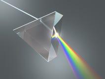 Кристаллическая призма стоковое фото