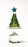 Кристаллическая рождественская елка Стоковые Фото