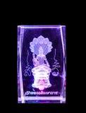 Кристаллическая статуя Будды Стоковое фото RF