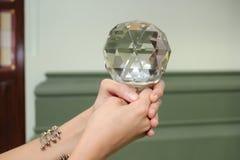 Кристаллическая сфера Стоковые Фото
