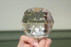Кристаллическая сфера Стоковые Фотографии RF