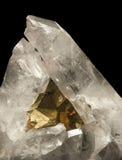 Кристаллические минералы Стоковые Изображения RF