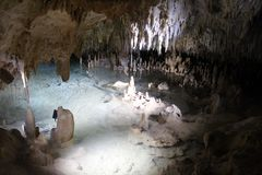 Кристаллические пещеры Стоковая Фотография
