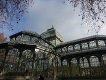 Кристаллический дворец Стоковая Фотография RF