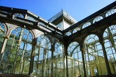 Кристаллический дворец стоковая фотография