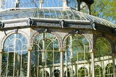Кристаллический дворец стоковые изображения rf