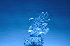 Кристаллический лебедь Стоковые Изображения