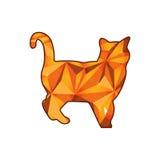 Кристаллический кот Стоковые Изображения
