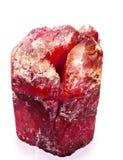 кристаллический красный цвет стоковая фотография
