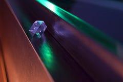 Кристаллический минерал кварца Стоковое фото RF