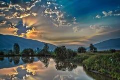 Кристаллический дневной свет Стоковая Фотография