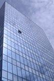 Кристаллический фасад абстрактное дело здания предпосылки Стоковая Фотография RF