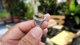 Кристаллическое кольцо Стоковые Изображения