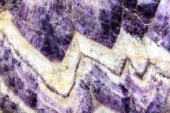 Кристалл кварца amethyst от disctrict Maissau, Австрии Стоковое фото RF