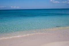 кристалл пляжа ясный Стоковые Изображения
