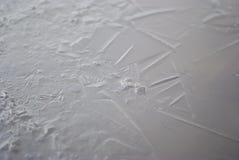 Кристаллы воды Стоковые Изображения RF
