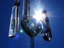 Кристаллы в небе Стоковое Изображение RF