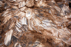Кристаллы гипса Стоковое Фото